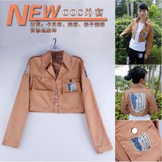 Attack on Titan Scouting Legion Jacket cosplay dress(size:M/L/XL/XXL) YOU-Q Anime Wholesale: Home > Popular Anime > Attack on Titan > Attack on Titan Scouting Legion Jacket cosplay dress(size:M/L/XL/XXL) More Details: http://www.you-q.net/goods.php?id=99444 Our Homepage: http://www.you-q.net