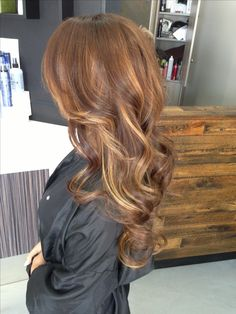 Love the highlights and base color
