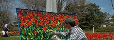 First held in the year of 1953 as a Board of Trade initiative, under the inspiration of the internationally renowned photographer Malak Karsh, The Canadian Tulip Festival has grown to become the largest Tulip Festival in the world.