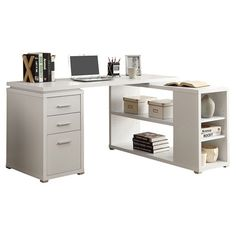 Found it at Wayfair - Theory Writing L-Desk in Whitehttp://www.wayfair.com/daily-sales/p/Work-from-Home-in-Style-Theory-Writing-L-Desk-in-White~MNQ2309~E13114.html?refid=SBP.rBAZEVH1gEyiFlhZVy_MAoqIm85BEEVep7MibwKqP90