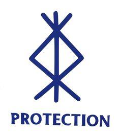 Viking Protection Rune, Protection Sigils, Rune Viking, Symbole Protection, Protection Symbols Tattoo, Viking Art, Witch Symbols, Rune Symbols, Magic Symbols