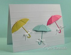 Umbrellas by kittie747 - Cards and Paper Crafts at Splitcoaststampers