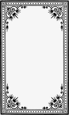 Black And White Border Png Frame Border Design, Page Borders Design, Photo Frame Design, Borders And Frames, Borders For Paper, Wedding Symbols, White Photo Frames, Border Templates, Doodle Frames