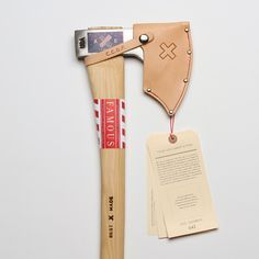 Hudson Bay Axe  Designed by Best Made in New York, drop forged in the fires of fourth generation axe makers Council Tool in North Carolina. Made for speed and portability, with canoeists and campers officially in mind.