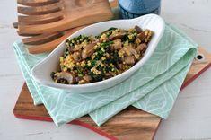 Cus-cus cu ciuperci si spanac Bread Recipes, Cookie Recipes, Nachos, Guacamole, Avocado, Beef, Healthy, Student, Foods