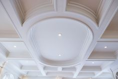 How to build coffered ceiling living room contemporary for Foam coffered ceiling