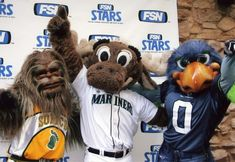 Awww Squatch! Bring Back our Seattle Super Sonics! #I<3SeattleSportsTeams #Memories