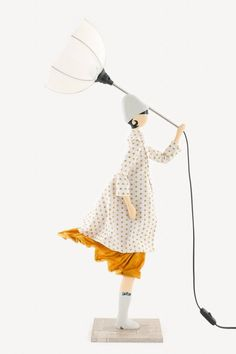 Skitso Girls Androniki Lampa - 85 cm Handmade Lamps, Best Sellers, Girls, Shopping, Design, Home Decor, Toddler Girls, Decoration Home, Daughters