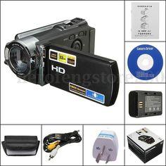 """32GB Full HD 1080P Digital Video Camera 2.7"""" LCD 16x Zo..."""