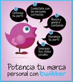 Potencia tu #marca personal con #twitter