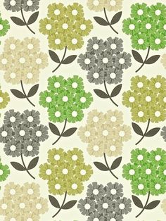 Buy Orla Kiely House for Harlequin Rhododendron Wallpaper Online at johnlewis.com