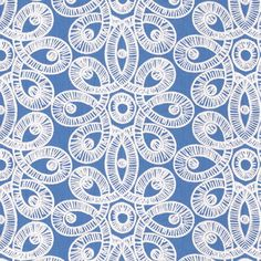 Lilly Lace in Tide Blue by Lilly Pulitzer from Lee Jofa