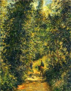Path under the Trees, Summer - Camille Pissarro