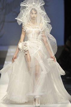 Vestidos de novia alta costura más originales - Jean Paul Gaultier