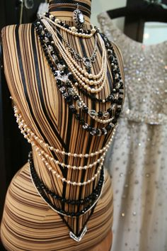 Presented perfectly ..... love the pearls. x