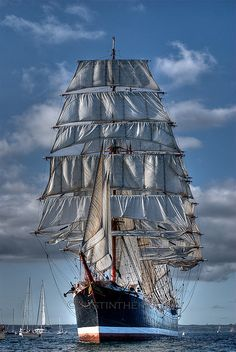 Tall Ship in Falmouth - 2008