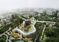 SPARK combines residential living with urban farming in singapore