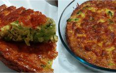 torta de brócolis fácil