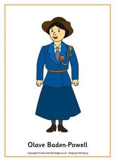 Olave Baden-Powell Poster