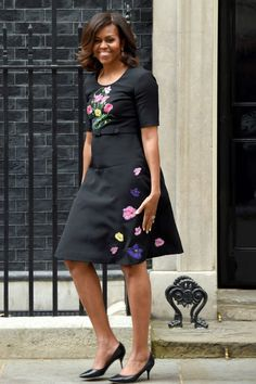 See Michelle Obama's best outfits from her European press tour: