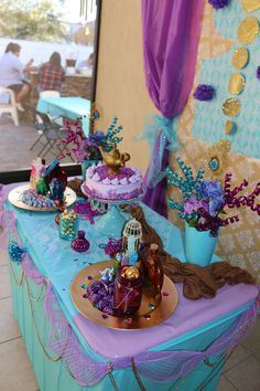 Shimmer and Shine table