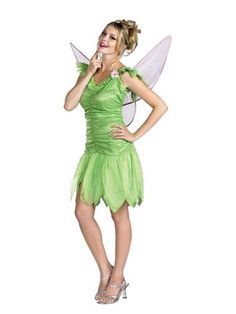 Tinkerbell Quality Dress Adult | Wholesale Fairy Halloween Costume for Women