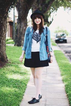 Black, White & Jeans