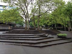 Lovejoy Plaza, Portland by Lawrence Halprin | Flickr - Photo Sharing!