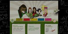 Diseño de pagina web Brydd, cuardernos ecologicos, México