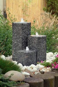 wasserspiel stein garten – controng, Garten und Bauen