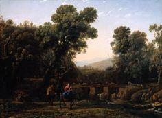 Lorrain. La fuite en Egypte (1635)
