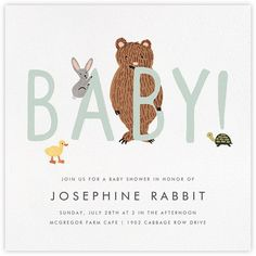 Baby shower invitations - Paperless Post
