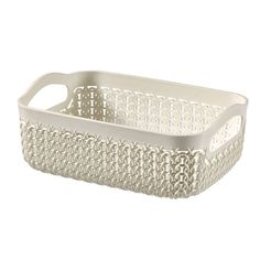 Designed with a stylish knit pattern this tray is available in white, perfect for everyday storage at home or an office environment. Office Organisation, Office Storage, Courier Collection, White Tray, Desk Tidy, Office Environment, Plastic Laundry Basket, Storage Solutions, Cleaning Wipes
