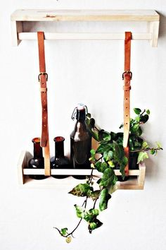 10 ways to use bekvam spice rack from IKEA Ikea Shelves, Hanging Shelves, Shelving, Ikea Bekvam, Diy Clock, Blog Deco, Decoration, Ladder Decor, Diy Furniture