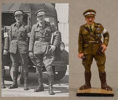 Vintage lead Toy and Model Soldiers: Servicio escocés de ambulancias, 1936-39 ALYMER