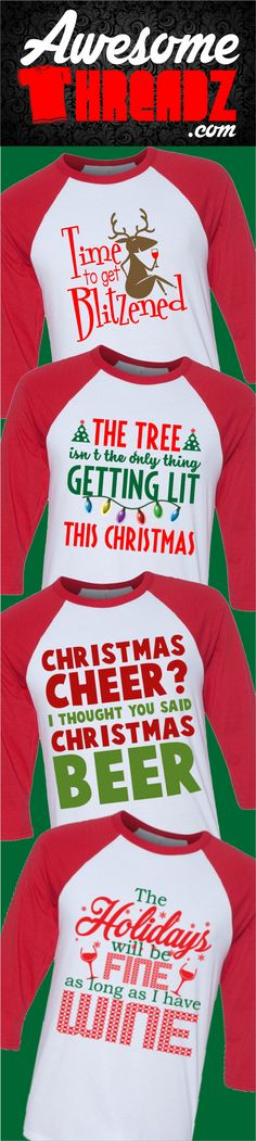 Check Out All Of Our Awesome Christmas T-Shirts Hoodies And Raglans. - Holiday Shirts - Ideas of Holiday Shirts - Check Out All Of Our Awesome Christmas T-Shirts Hoodies And Raglans. Christmas Beer, Christmas Vinyl, Christmas Shirts, Family Christmas, Christmas Humor, Ugly Christmas Sweater, Christmas Holidays, Christmas Crafts, Christmas Decorations