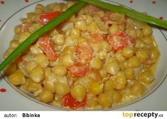 Cizrna s rajčaty Chana Masala, Vegetable Recipes, Bon Appetit, Food And Drink, Healthy Recipes, Vegetables, Ethnic Recipes, Kitchen, Detail