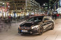 As last year we heard rumors, Mercedes-Benz CLA 45 AMG Shooting Brake OrangeArt Edition massive gallery released with beautiful orange interior and exterior