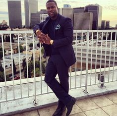 Fabulous looks of the day: Kevin Hart, February 1-2, 2014 | Fashion Bomb daily