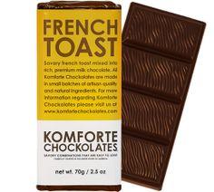 French Toast Chocolate Bar