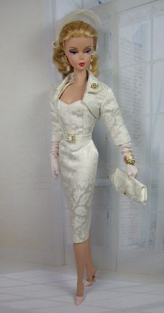 Colombe for Silkstone Barbie by Matisse. She looks Bridal to me!!