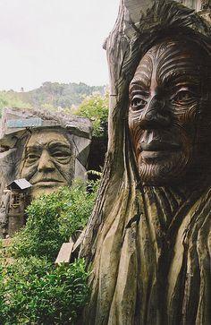 Maori & Abel Tasman carving | Flickr - Photo Sharing!