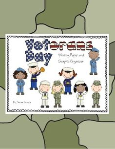 Veterans Day writing paper and organizer - free