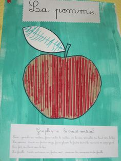 trait vertical avec inducteur (carton ondulé) C. Fristot Pre Writing, Writing Skills, Autumn Activities, Writing Activities, Trait Vertical, Petite Section, Food Crafts, Apple Tree, Life Cycles