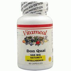 Comprar Vita Meal Dong Quai 500mg 60 capsulas - Vita Meal - Herbolario Online