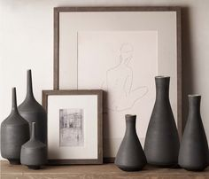 Monochrome neutrality! form and texture