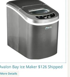 of ice for all that partying! Portable Ice Maker Machine - Extra Ice ...