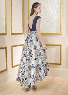 manu garcía pollera dresses, night gown dress y fash Pretty Dresses, Beautiful Dresses, Night Gown Dress, Evening Dresses, Prom Dresses, Mother Of Groom Dresses, Dresses For Teens, Formal Gowns, Look Fashion