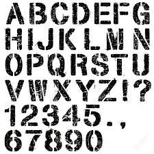 Pin by kevin McRoberts on Military fonts   Letter stencils, Stencil