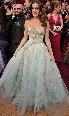 Sarah Jessica Parker in Dior Haute Couture Best Oscar Dresses ...